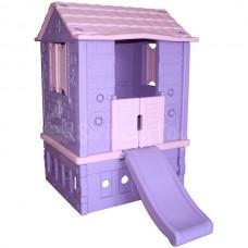 İki Kapılı Kaydıraklı Oyun Evi
