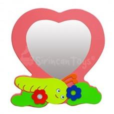 Kalp Lavabo Aynası
