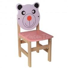 Ayı Figürlü Çocuk Sandalyesi