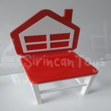 Ev Figürlü Çocuk Sandalyesi