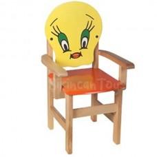 Tiviti Figürlü Kolçaklı Çocuk Sandalyesi