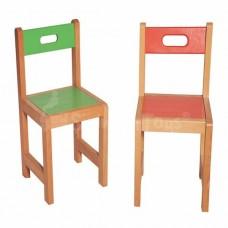 Renkli Ahşap Sandalye